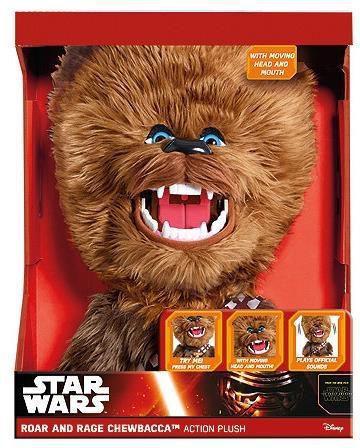 Underground Star Wars. Rycząca maskotka Chewbacca 35 cm (222816)