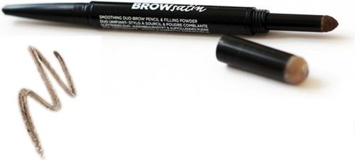Maybelline  MAYBELLINE_Brow Satin Duo Pencil kredka do brwi Medium Brown