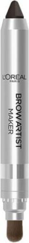 L´Oreal Paris Brow Artist Maker 04 Dark Brunette - kredka do brwi z pędzelkiem
