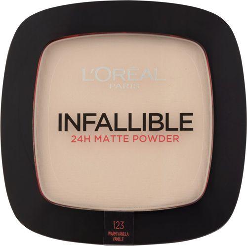 Loreal L'OREAL_Infallible 24H Matte Powder puder matujący 123 Warm Vanilla 9g