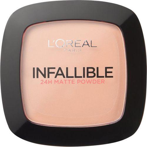 Loreal L'OREAL_Infallible 24H Matte Powder puder matujący 225 Beige 9g