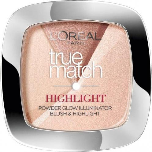 L'Oreal Paris True Match Highlight Powder - rozświetlający puder do twarzy 202.N Rosy Glow 9g