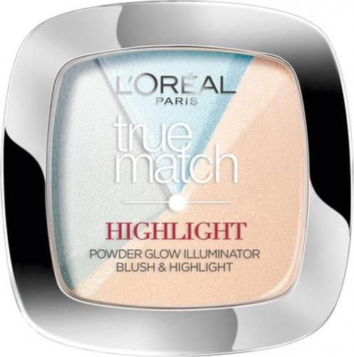 L'Oreal Paris True Match Highlight Powder - rozświetlający puder do twarzy 302.R/C Icy Glow 9g