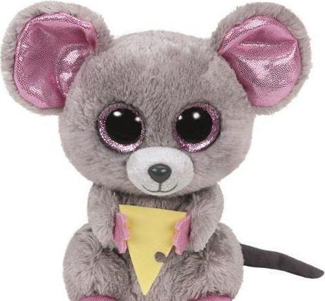 TY Beanie Boos Squeaker - Myszka z serem (219448)