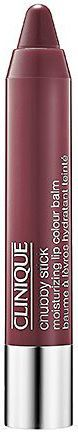 Clinique CLINIQUE_Chubby Stick Moisturizing Lip Colour Balm błyszczyk w kredce 01 Richer Raisin 3g