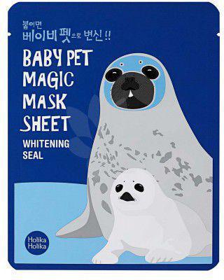 Holika Holika Baby Pet Magic Mask Sheet Maska w płacie Whitening Seal  1szt