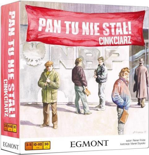 Egmont Pan tu nie stał! Cinkciarz (223117)