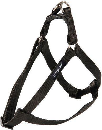 Ami Play Szelki regulowane   Basic M 30-55 [c, d] x 1,5cm Czarny