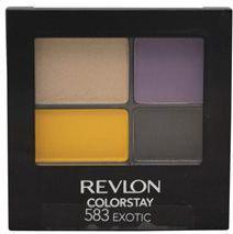 Revlon ColorStay 16 Hour Eye Shadow Quad poczwórne cienie do powiek 583 Exotic 4,8g