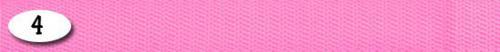 Ami Play Smycz   Basic S 150 x 1cm Rózowy