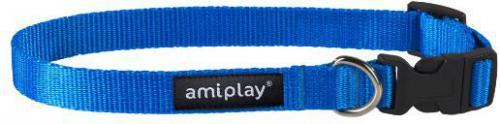 Ami Play Obroża regulowana  Basic M 25-40 [b] x 1,5cm Niebieski