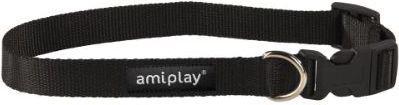 Ami Play Obroża regulowana  Basic XL 45-70 [b] x 2,5cm Czarny