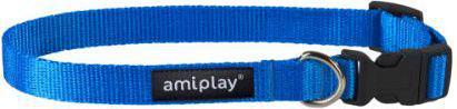 Ami Play Obroża regulowana  Basic XL 45-70 [b] x 2,5cm Niebieski