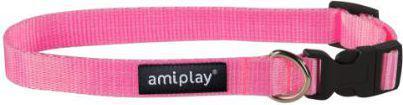 Ami Play Obroża regulowana  Basic XL 45-70 [b] x 2,5cm Rózowy