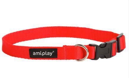 Ami Play Obroża regulowana  Basic XL 45-70 [b] x 2,5cm czerwony
