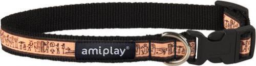 Ami Play Obroża regulowana  Joy S 20-35 [b] x 1cm Wzór egipski