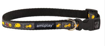 Ami Play Obroża regulowana Wink S 20-35 [b] x 1cm czarny