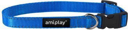 Ami Play Obroża regulowana Reflective M 25-40 [b] x 1,5cm Niebieski