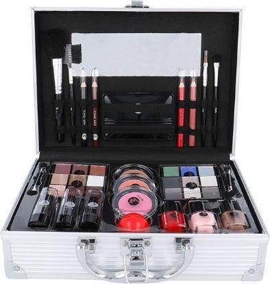 2K All About Beauty Train Case Zestaw kosmetyków Complete Makeup Palette 60,2g