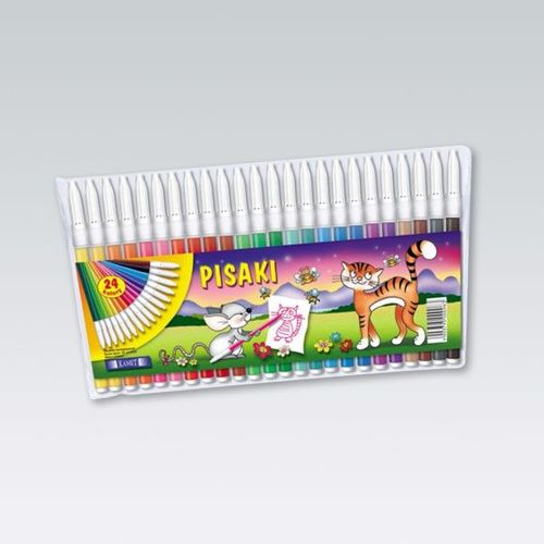 Bertus Pisaki Kamet 24 kolory (KAME0045)