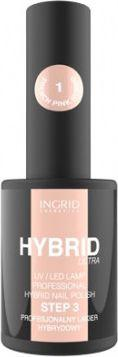 INGRID Hybrid Ultra Lakier hybrydowy nr 01 French Pink  7ml