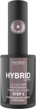 INGRID Hybrid Ultra Lakier hybrydowy nr 06 Chocolate  7ml