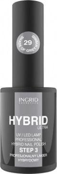 INGRID Hybrid Ultra Lakier hybrydowy nr 29 Shade Of Grey  7ml