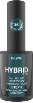INGRID Hybrid Ultra Lakier hybrydowy nr 35 Blue City  7ml
