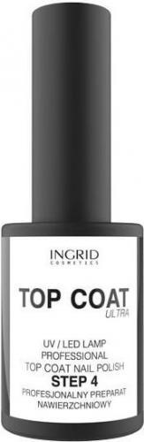 INGRID Hybrid Ultra Top Coat na lakier hybrydowy  7ml