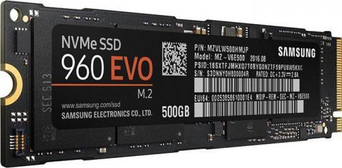 Dysk SSD Samsung 960 Evo 500GB M.2 PCIe (MZ-V6E500BW)