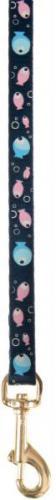 """Zolux Smycz dla kota """"Bubble Fish"""" 1 m/10 mm niebieski"""