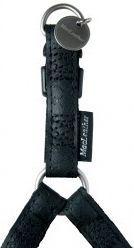 Zolux Szelki regulowane Mac Leather 15 mm - czarny