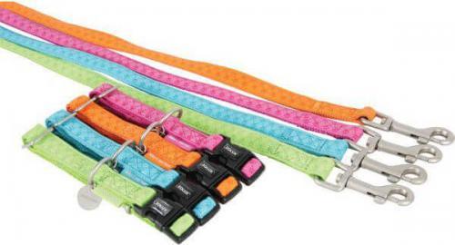Zolux Smycz Mac Leather 25 mm/1.2 m kolor seledynowy
