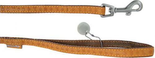 Zolux Mac Leather 25 mm/1.2 m Żółta