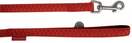 Zolux Mac Leather 25 mm/1.2 m Czerwona