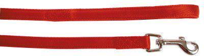 Zolux Cushion smycz taśma 15mm/ 1.2 m, czerwony
