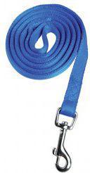 Zolux Cushion smycz taśma 25mm/1.2m, niebieski