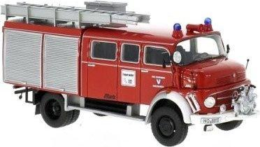 Neo Models Mercedes-Benz L 911 Metz B/36 Volunteers Fire Brigade Marlesreuth 1981 (96810)