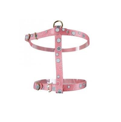 Zolux Szelki odblaskowe – kolor różowy
