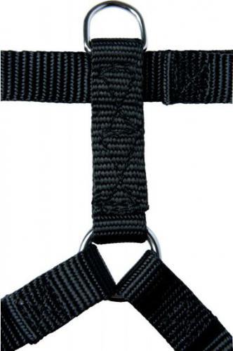 Zolux Szelki taśma 30/45cm 15mm kol. czarny