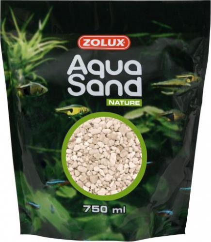 Zolux AquaSand Nature 750 ml kol. biały