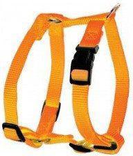 Zolux Szelki nylon regulowane 15 mm - pomarańczowy
