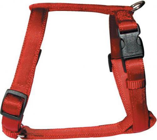 Zolux Cushion szelki taśma 15mm - kol. czerwony