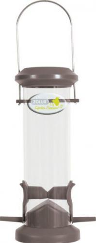 Zolux Karmnik plastikowy Silo - 2 żerdki szary