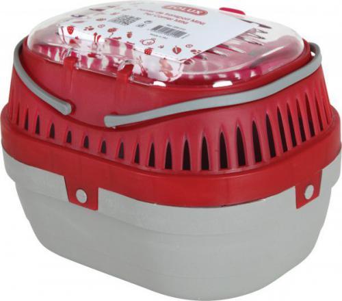 Zolux Transporter dla gryzoni mini 170x230x160 mm kol. czerwony