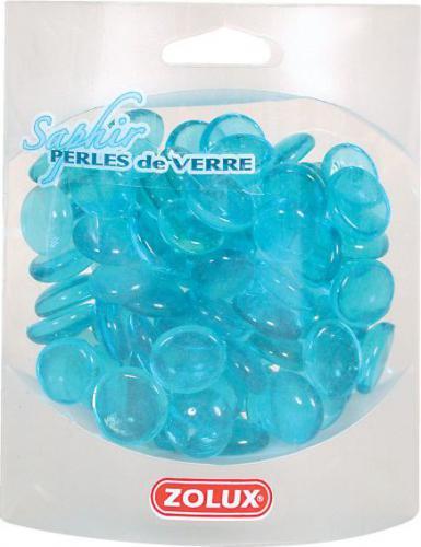 Zolux Perełki szklane szafirowe