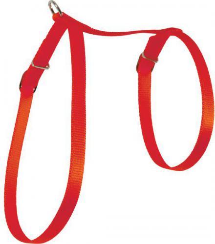 Zolux Szelki dla kota nylon 10 mm czerwony