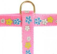 """Zolux Szelki dla kota """"Spring"""" 10 mm różowy"""