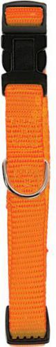 Zolux Obroża nylon regulowana 10 mm pomarańczowa