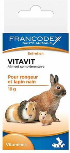 FRANCODEX Vitavit - witaminy dla gryzoni 18 g